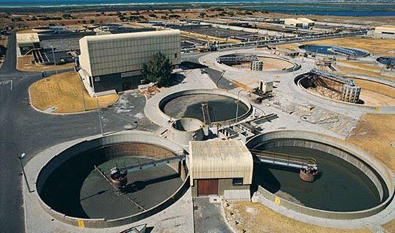Tren de tratamiento de aguas residuales